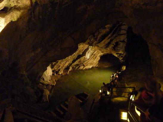 VD #533, Eifel, 5. Tag, Belgien, Die Grotten von Remouchamps