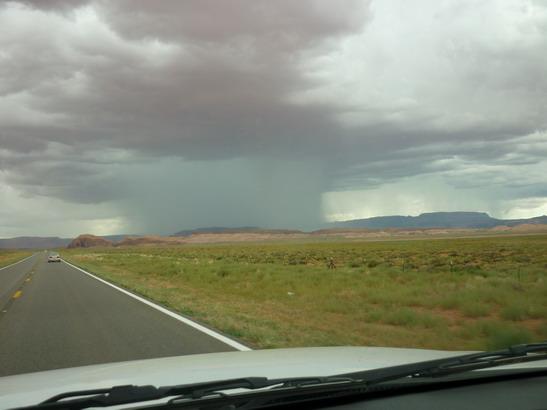 10-07-27-8 Unwetter vor Kayenta