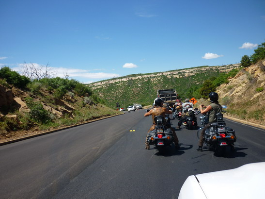 Stau vor Mesa Verde